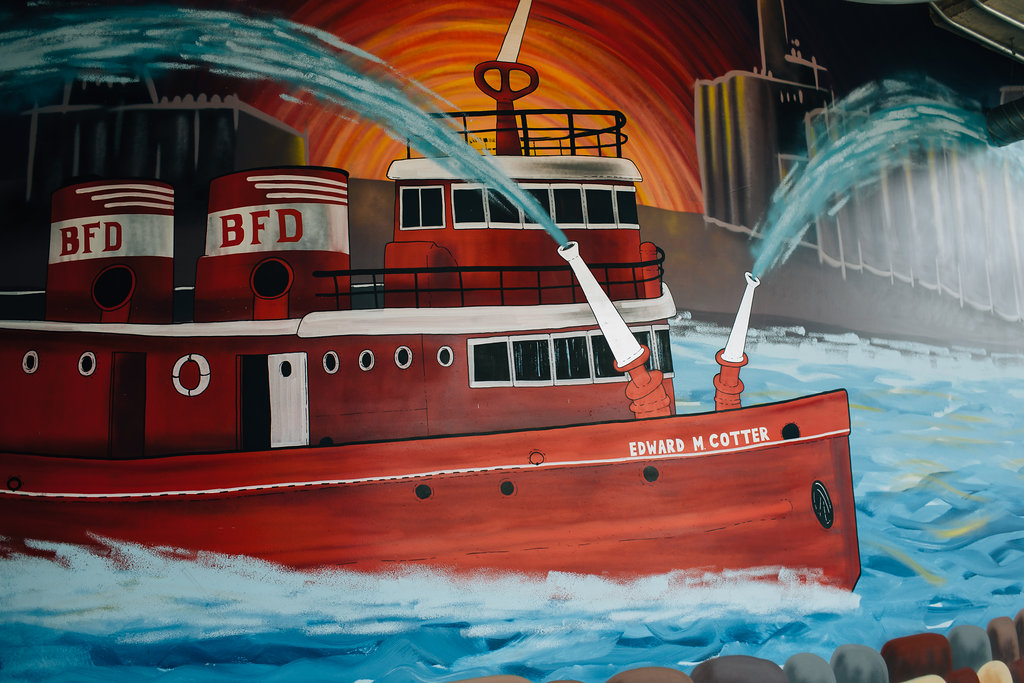 Edward M Cotter - Buffalo Fire Department Boat