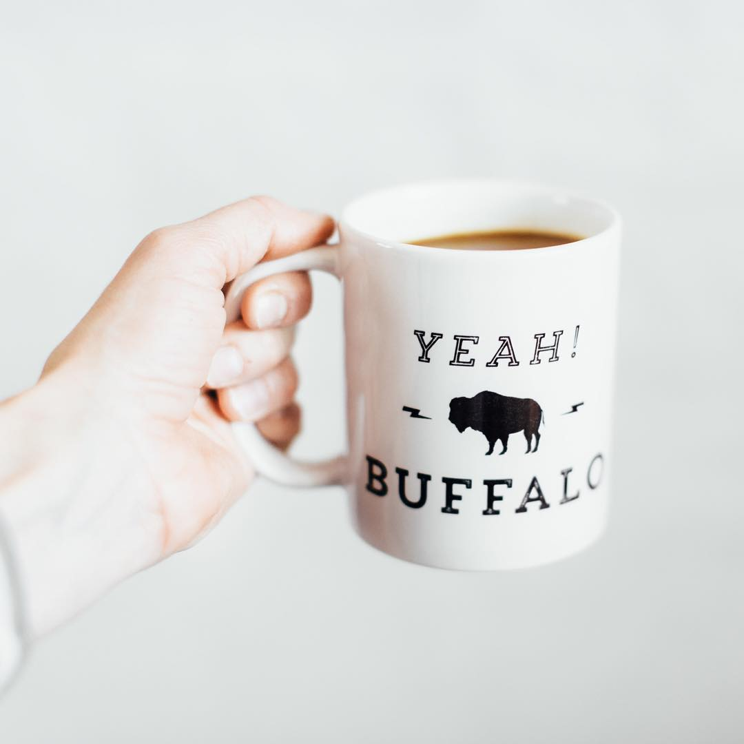 Yeah! Buffalo Coffee Mug