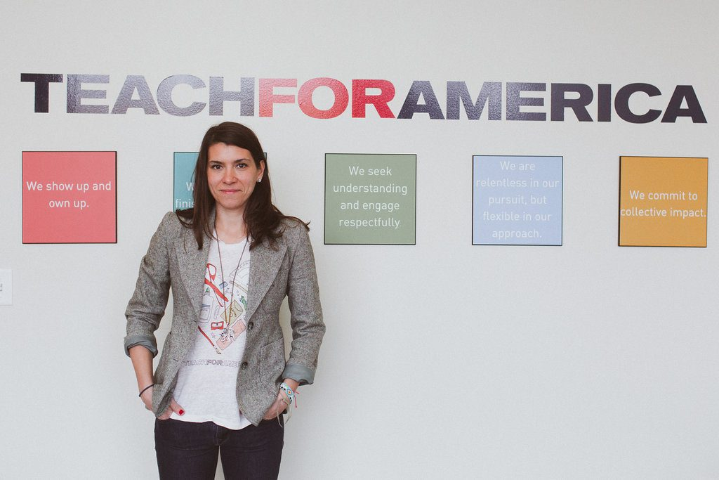 Katie Campos - Teach For America